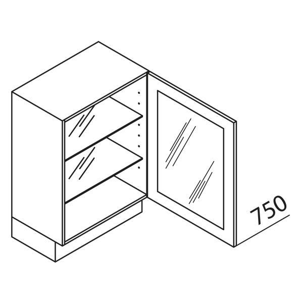 Nolte Küchen Unterschrank mit Glastür UDDDF40-75-39