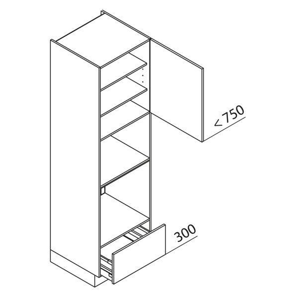 Nolte Küchen Hochschrank Geräteschrank GBBA210-3-4
