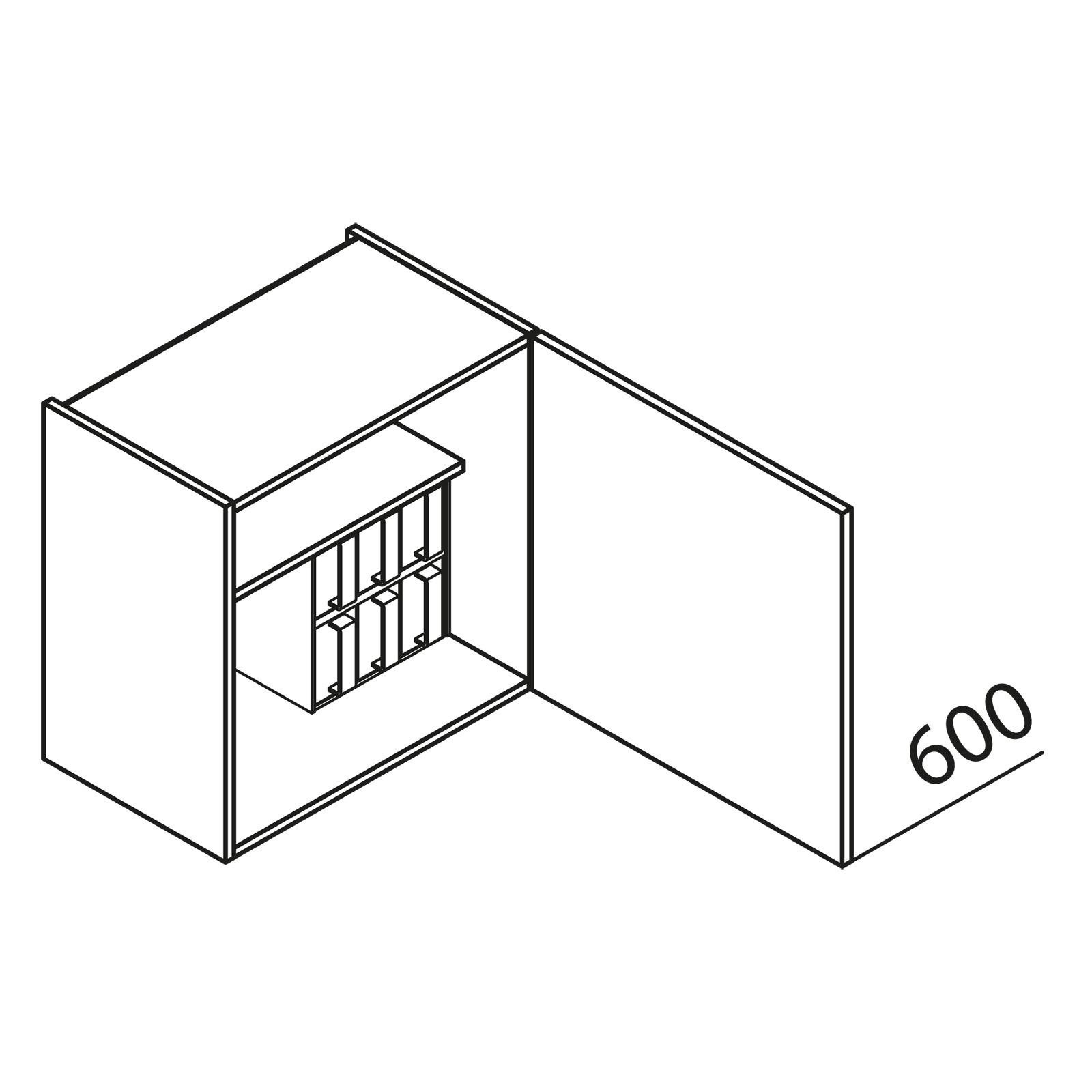 nolte k chen h ngeschrank gew rzschrank hg60 60. Black Bedroom Furniture Sets. Home Design Ideas