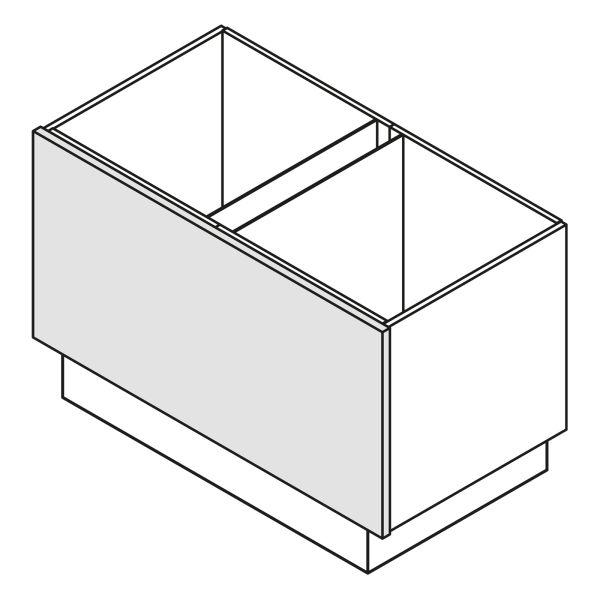 Nolte Küchen Unterschrank Wange Korpushöhe W16-ZE60-120