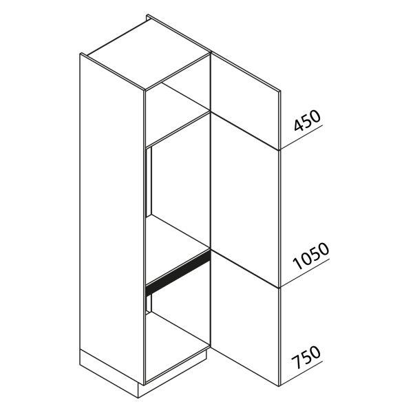 Nolte Küchen Hochschrank Geräteschrank GKK225-72-103
