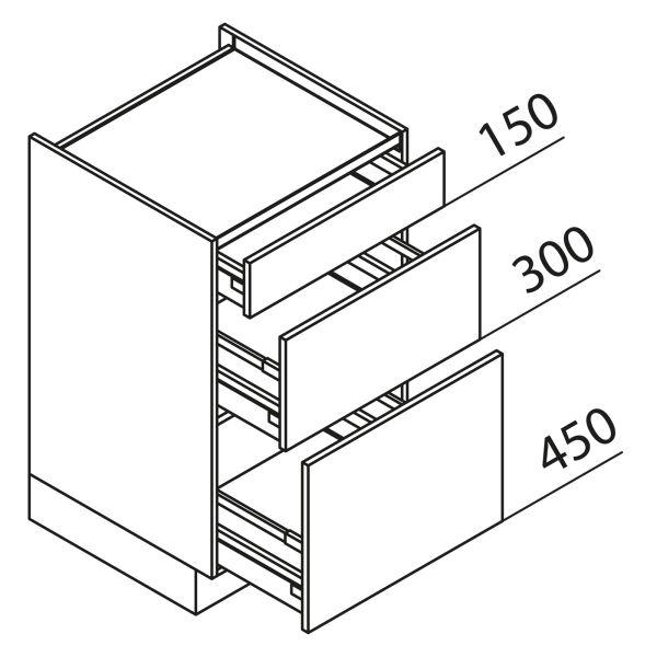 Nolte Küchen Unterschrank Kochstellenschrank KUAK80-90-60-H