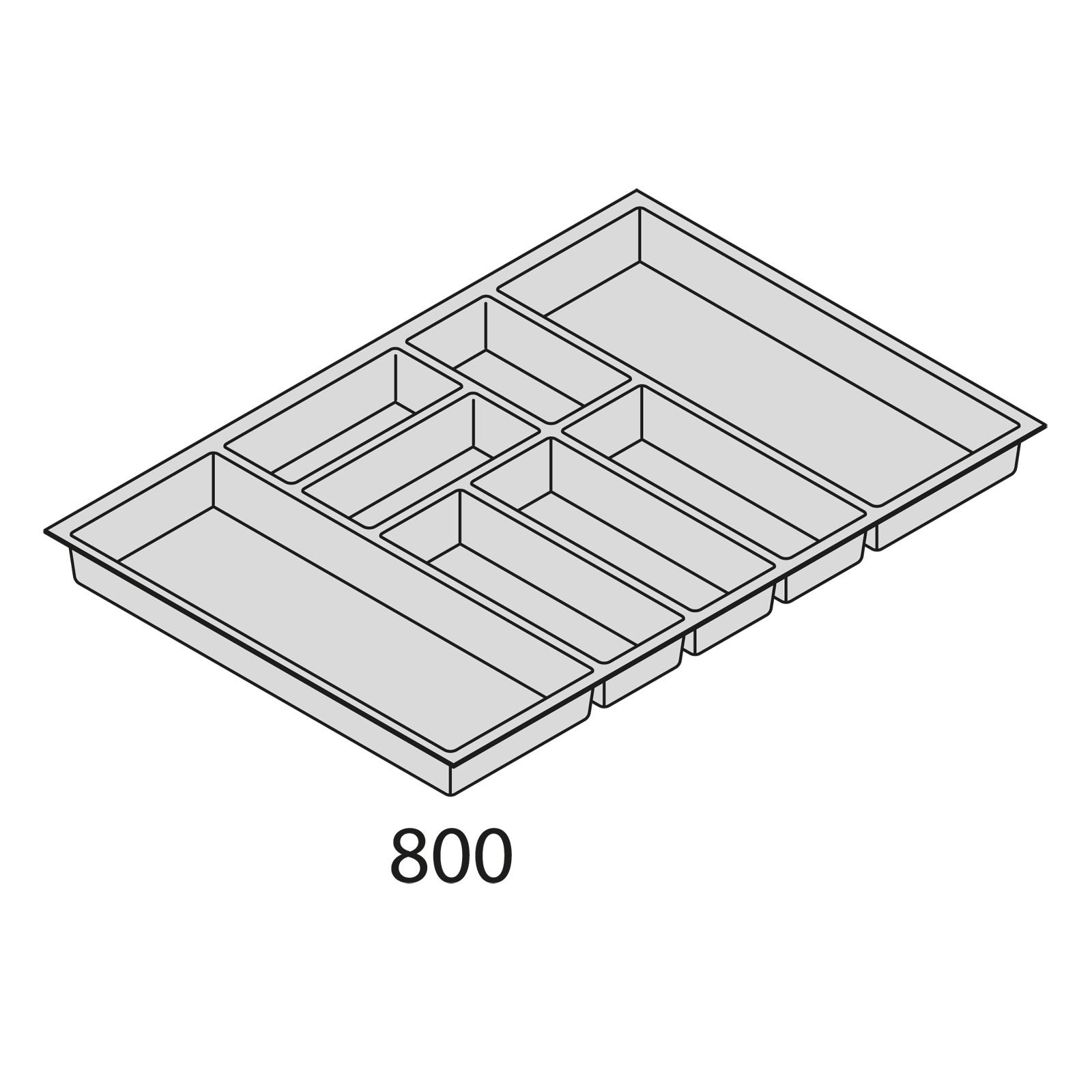 nolte k chen besteckorganisation kunststoff bei80. Black Bedroom Furniture Sets. Home Design Ideas