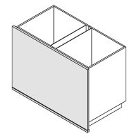 Unterschrank Wange Bodentief Nolte Küchen W16-U75-120