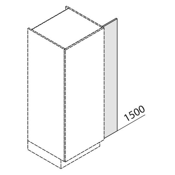 Nolte Küchen Hochschrank Passleiste SPL2-150