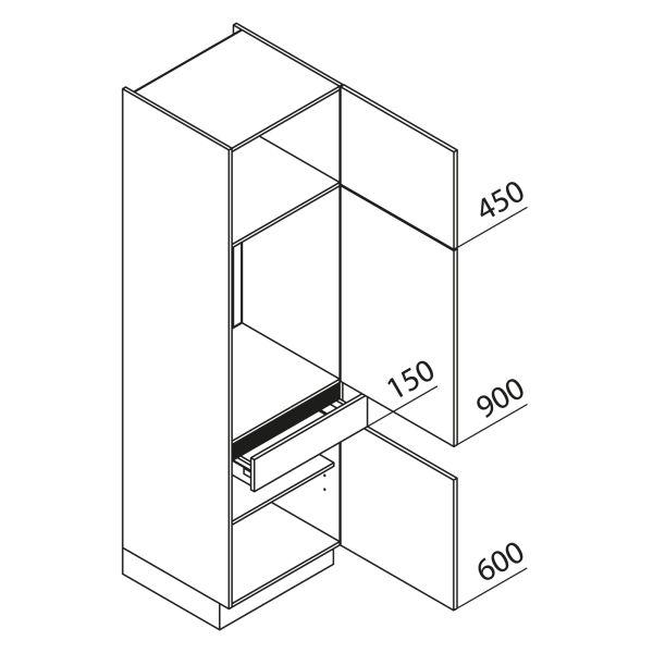Nolte Küchen Hochschrank Geräteschrank GKS210-88