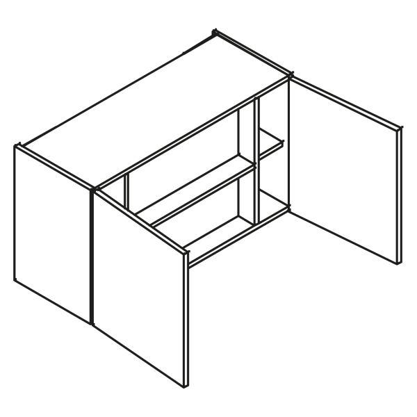 kitchenz k1 Dunstabzug Hängeschrank HDIR4-090