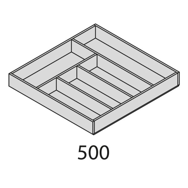 Nolte Küchen Besteckeinsatz Eiche BEI2H50-50