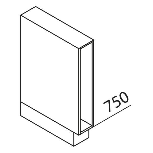 Nolte Küchen Unterschrank-Regal UR15-O-EBO