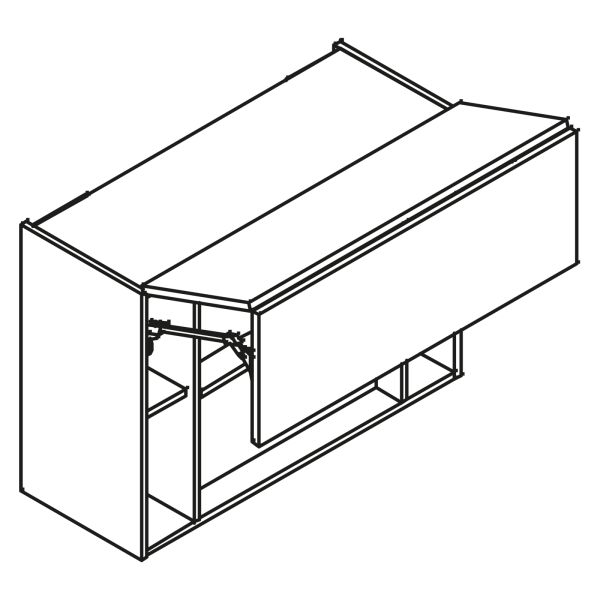 kitchenz k1 Dunstabzug Hängeschrank HDIR5-090FL