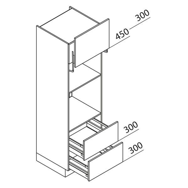 Nolte Küchen Hochschrank Geräteschrank GBLAZ195-3
