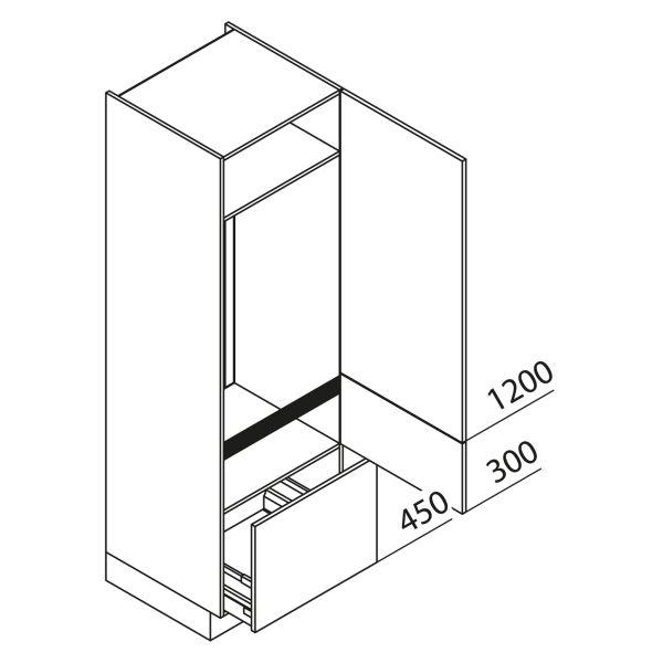 Nolte Küchen Hochschrank Geräteschrank GKA195-123-08