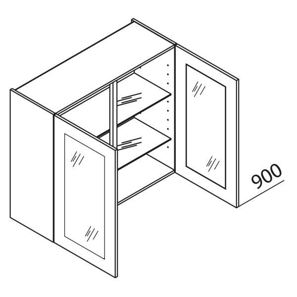 Nolte Küchen Hängeschrank mit Glas HV80-90