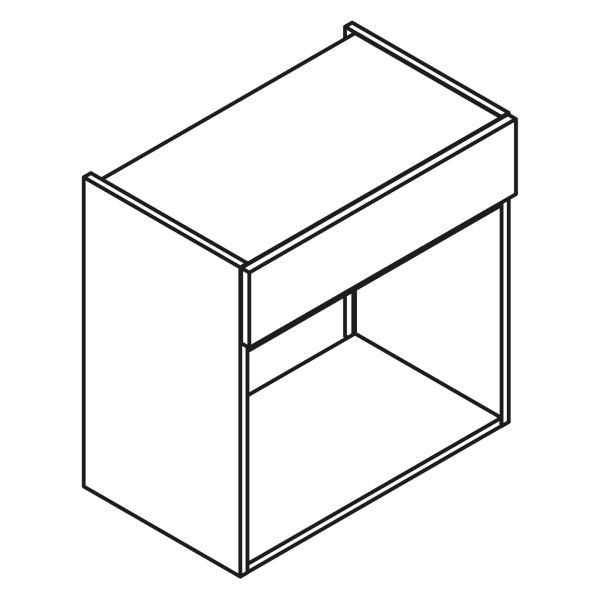 Nolte Küchen Hängeschrank für Mikrowelle HM50-60-450
