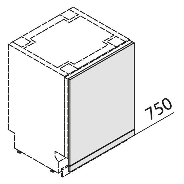 Türfront für Geschirrspüler GSBD60-S7