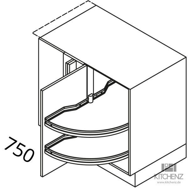 Nolte Küchen Eckschrank UEAD115-65MS-L