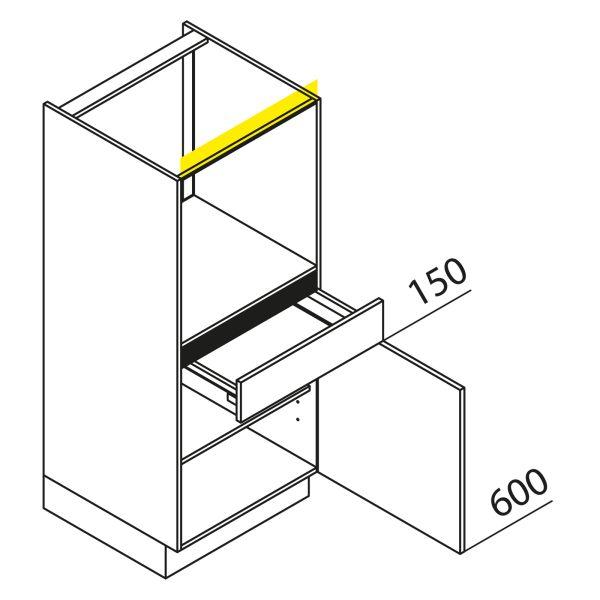 Nolte Küchen Hochschrank Geräteschrank GBS135-3