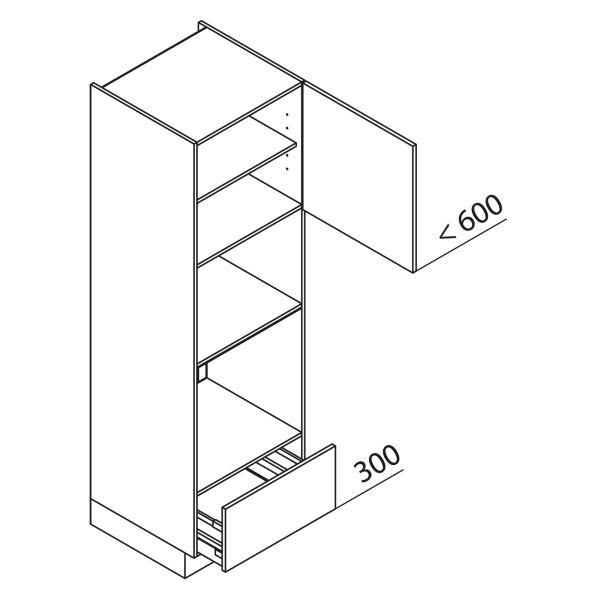 Nolte Küchen Hochschrank Geräteschrank GBBA195-3-4