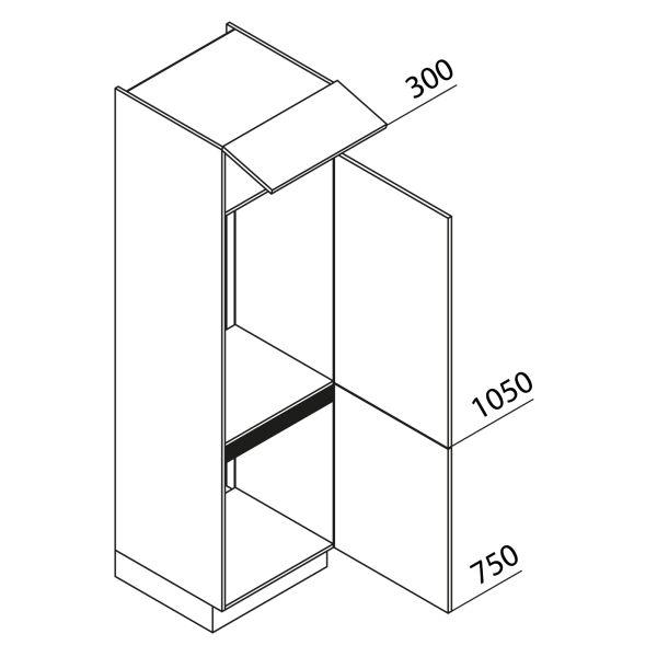 Nolte Küchen Hochschrank Geräteschrank GKK210-72-103