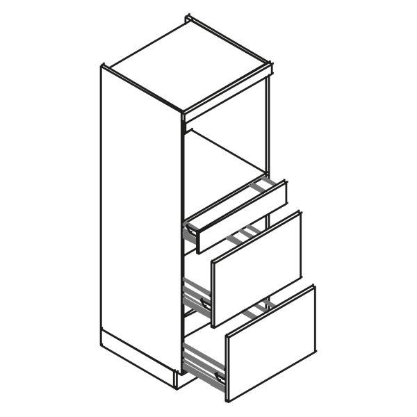 kitchenz k1 Geräteschrank DGO12-ESZ2