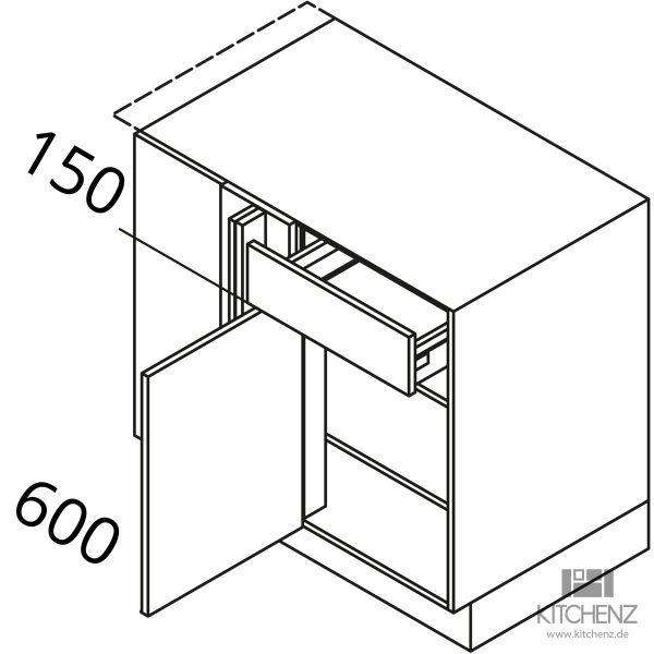 Nolte Küchen Eckschrank UEEA125-65-L