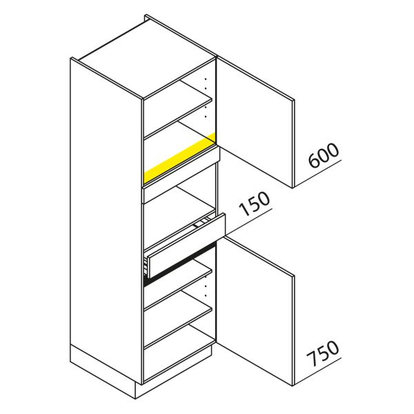 Nolte Küchen Hochschrank Geräteschrank GBS195-1