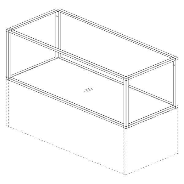 kitchenz k1 Regal Smartcube RSCU3-060