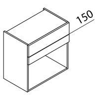Nolte Küchen Hängeschrank für Mikrowelle HM50-60-399