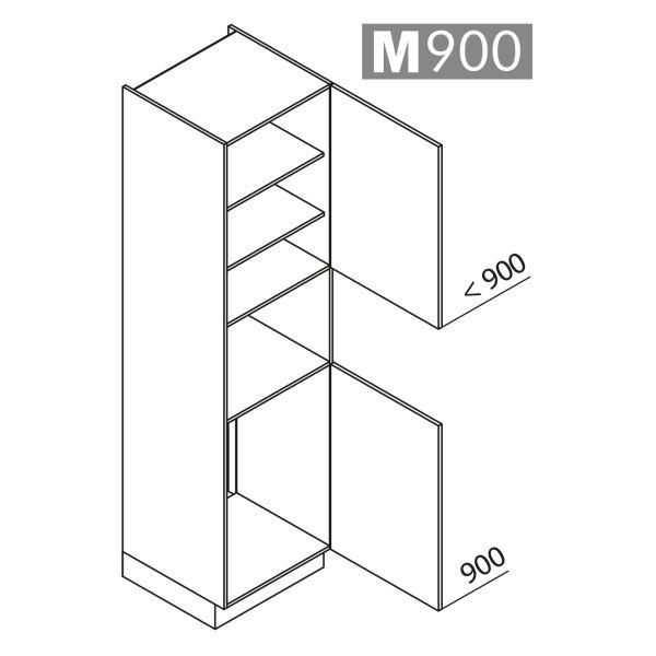 Nolte Küchen Hochschrank Geräteschrank GKB225-88-4