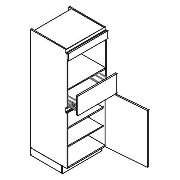 kitchenz k1 Geräteschrank AGO12-MZ