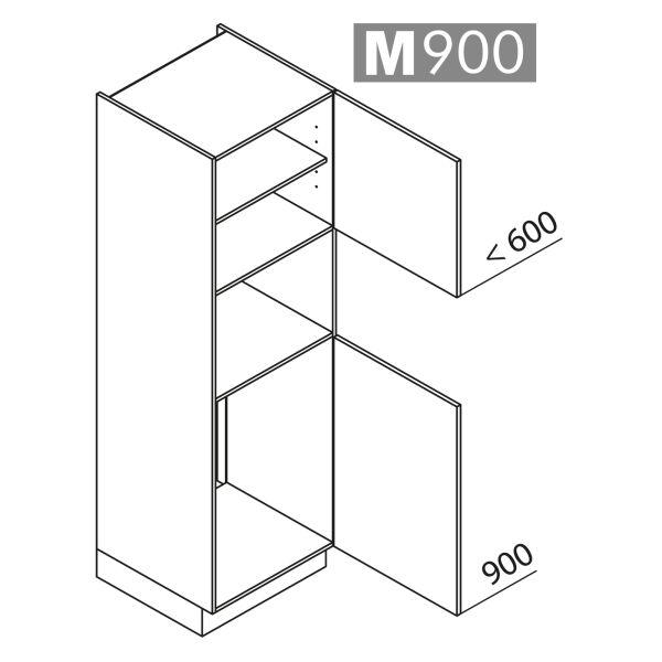 Nolte Küchen Hochschrank Geräteschrank GKB195-88-4