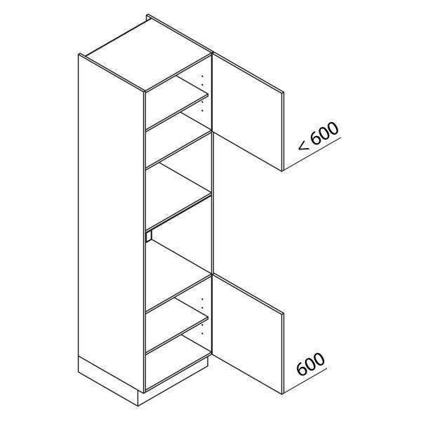 Nolte Küchen Hochschrank Geräteschrank GBB225-3-4