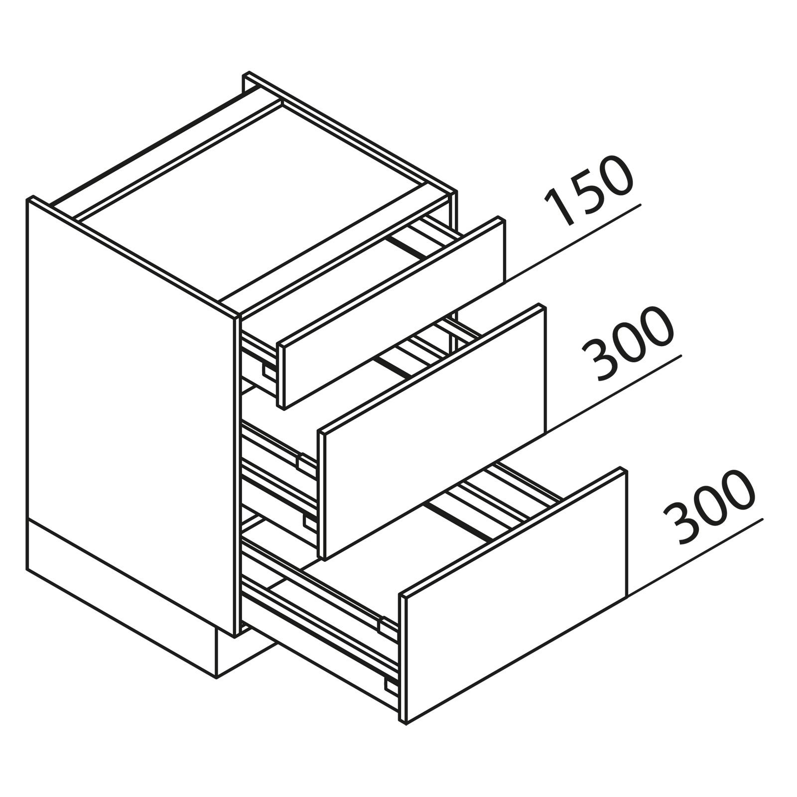 nolte k chen unterschrank kochstellenschrank kuak80 b. Black Bedroom Furniture Sets. Home Design Ideas